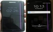 Samsung S7 Edge ekranda pembe çizgiler nasil giderilir