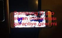 Samsung j7 pro ekran morarması garantiye girer mi