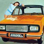 Anadol nerenin arabası